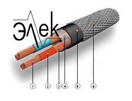 кабель КМПЭВЭнг-LS 37х2эх0,75