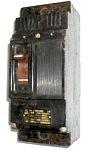 А3322 второй величины, двухполюсный, постоянного тока, с тепловым и электромагнитным расцепителями