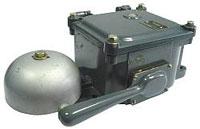 Звонки с встроенной лампой переменного тока ЗВЛП-127, ЗВЛП-220 и постоянного тока ЗВЛФ-24, ЗВЛФ-220