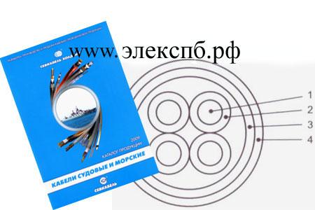 кабель КГНсП, судовой справочник - вес кабеля,внешний диаметр, допустимая токовая нагрузка