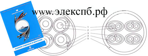 кабель ССПСЭВ-HF, судовой справочник - вес кабеля,внешний диаметр, допустимая токовая нагрузка